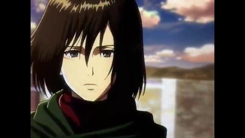 Attack on Titan Lost Girls OVA 3 - - Mikasa and Eren Scene - - Credits