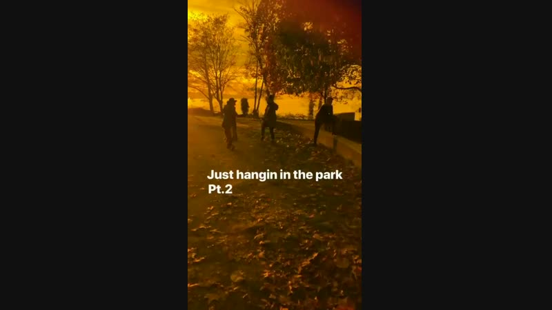 Ross Lynch News - [IG STORY] _Just hangin in the park Pt.2_ ChillingAdventuresOfSabrina Sabrina C
