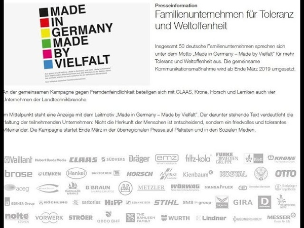 Allianz des Bösen - 50 Familienunternehmen gegen die Vielfalt und für Völkermord