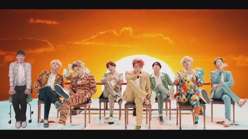Sneak into the BTS - IDOL music video IDOLCHALLENGE