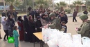Семьи беженцев с Восточного Евфрата получили недельный запас продуктов