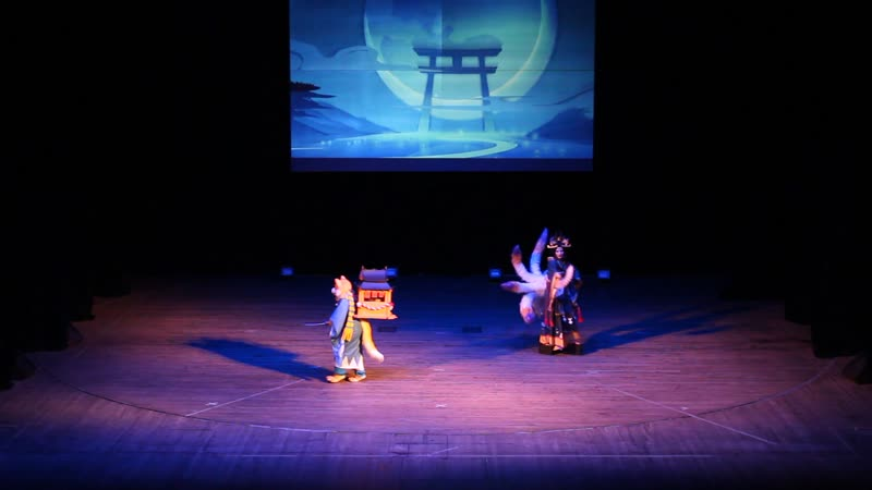 Fisych Shiro Diablo Tamamo no mae Inugami Onmyoji Ярославль FAP 2019. Festival of Asian Popular culture
