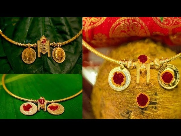 The Hindu Thali Chain Designs Gold Thali Kodi Saradu Chain Designs