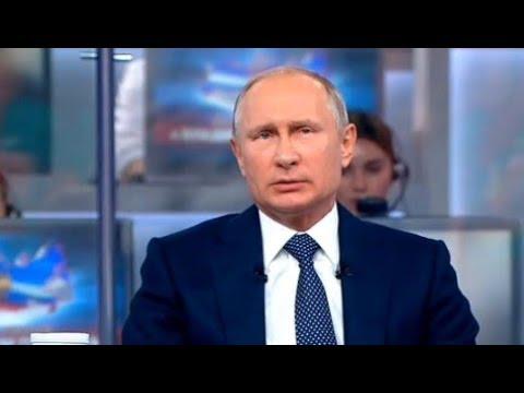 Путин так и НЕ СМОГ ответить на вопрос про ПОВЫШЕНИЕ пенсионного возраста