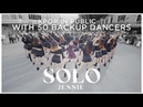 [KPOP IN PUBLIC] JENNIE - 'SOLO' | DANCE COVER by Cli-max Crew (with 50 backup dancers)