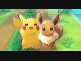 Pokemon Let's Go Pikachu. Играем , Общаемся