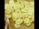 Печенье сметана банан 😋