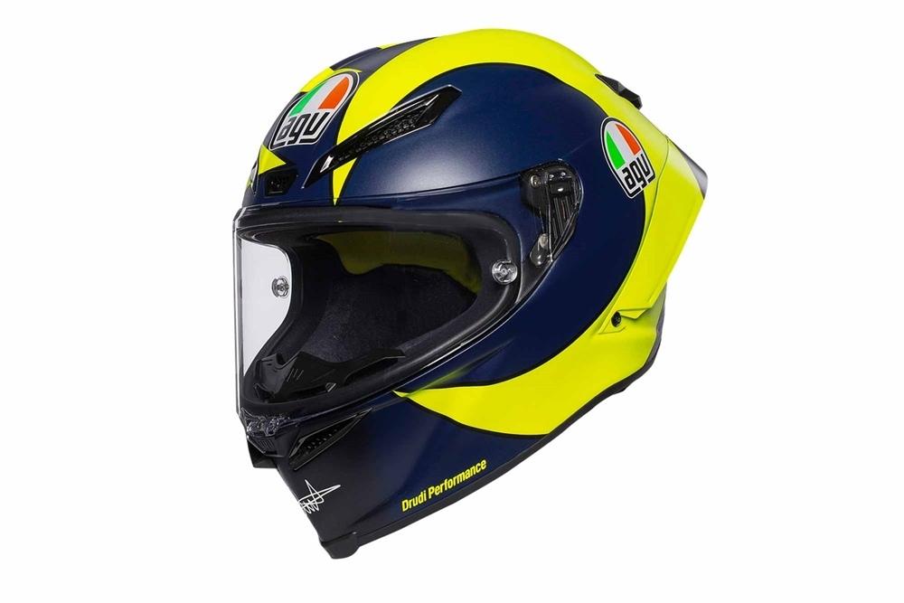 Мотошлем AGV  Valentino Rossi Pista GP R Replica 2018