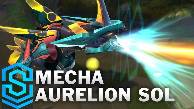 Mecha Aurelion Sol Skin Spotlight Pre Release League of Legends