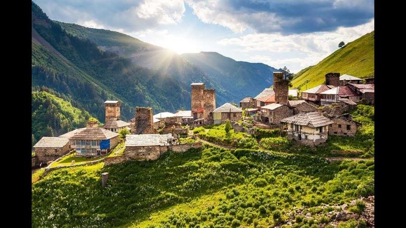 Грузия Красивая Страна. Достопримечательности Грузии, красивые места