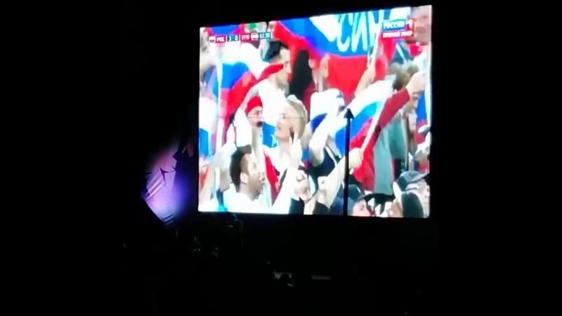 Фан-зона в Перми. Стадион Юность