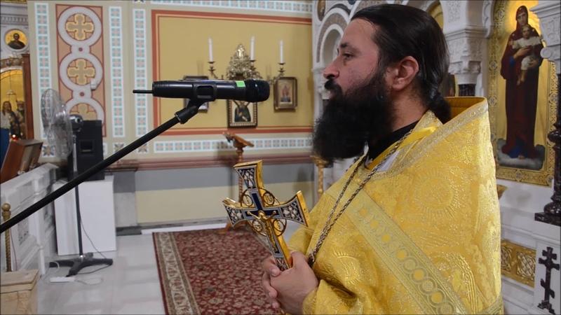 Проповедь в неделю 3-ю по Пятидесятнице. Протоиерей Стефан Сломчинский. 2018 год