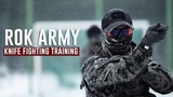 South Korean Special Forces Hand to Hand Knife fighting training