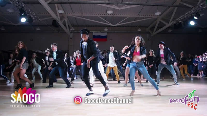 Salsa On2 Bootcamp by Amneris Falco at the Rostov For Fun Fest 2018