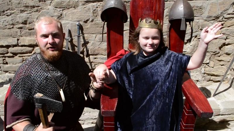 Дарина в Генуезской крепости - принцесса