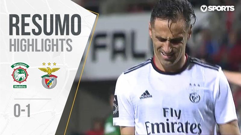 Highlights | Resumo Marítimo 0-1 Benfica (Liga 1819 13)