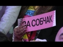Ксения Собчак- «Я не буду вам врать, как Грудинин». ФАН-ТВ