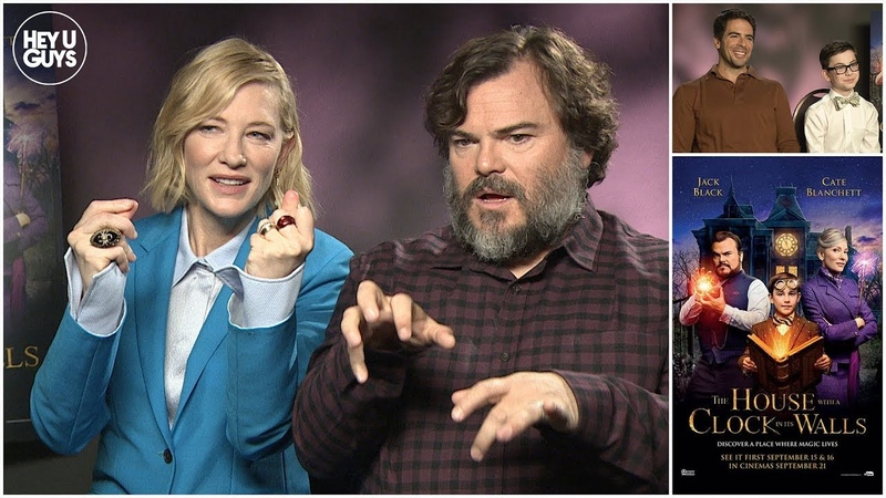 Jack Black, Cate Blanchett, Eli Roth Owen Vaccaro Interview - The House with a Clock on its Walls