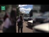 Видео пожара на речном вокзале в Иркутской области появилось в Сети