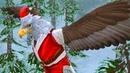 НОВЫЙ ГОД и Рождество в СИМУЛЯТОРЕ МАЛЕНЬКОГО ПИТОМЦА 15 Орел и Снеговик с оленем в детской игре