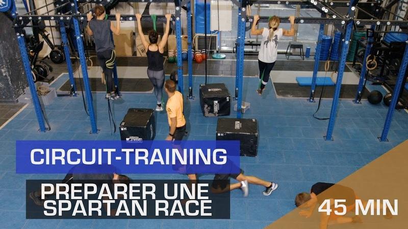 Préparer une Spartan Race - Circuit training