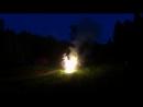 Салют на День Рождения в походе на байдарках по реке Керженец 15-17 июня 2018г