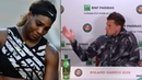 Serena Williams allegedly kicks Dominic Thiem out of his own French Open press conference