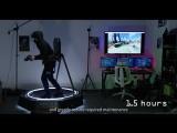 Тарелку The KAT Walk mini, имитирующая движение в VR-играх.