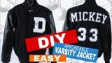 Varsity Jacket DIY (EASY!)