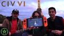 REALITY vs GAME The Eiffel Tower Civilization VI