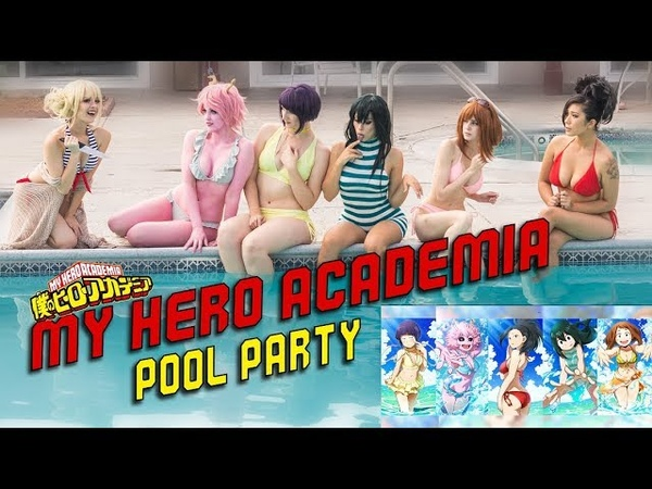 Showcase: MY HERO ACADEMIA Swimsuit Pool Party!