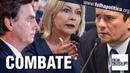 Combate Senadora do partido de Bolsonaro e ex-juíza, Selma apoia Sergio Moro e escancara impunidade
