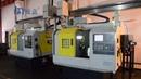 AL320P CNC Lathe with Gantry type robotic arm