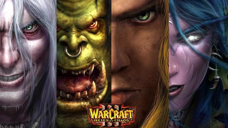 WarCraft III: Reign of Chaos 7 → Кампания, Эльфы, Высокая сложность [G4620/16GB/GT1030]