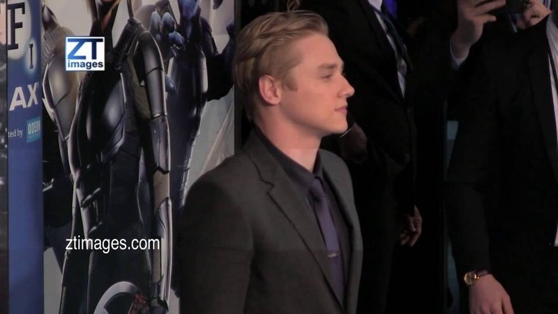 Ben Hardy at the film premiere X-Men Apocalypse in London, UK