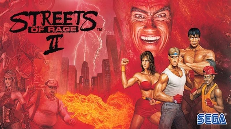 Street of rage 2 SEGA Letsplay