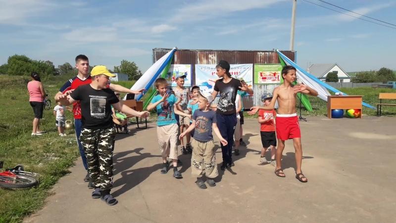 День молодежи России - флешмоб Вместе со мной танцуй Татарстан.
