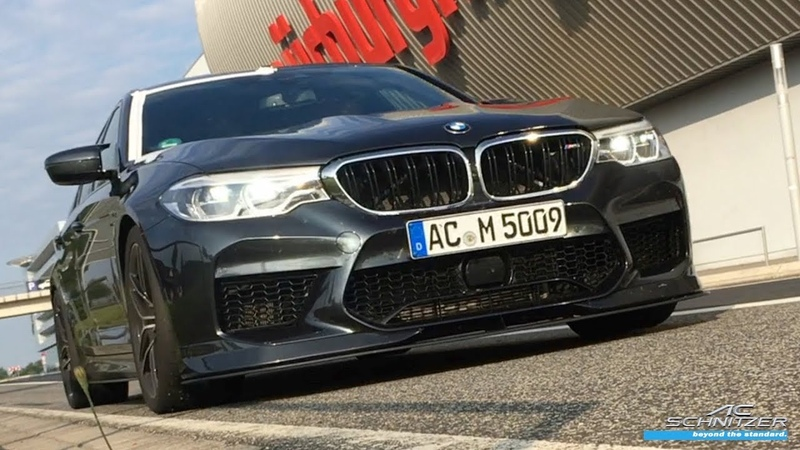 Jörg Müller drives in the M5 by AC Schnitzer new M5 record on the Nürburgring Nordschleife