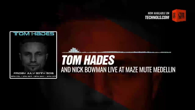 Listen Techno music with @tomhades and @DJNickBowman - MAZE Mute Medellin, Colombia Periscope