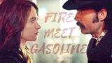 Wynonna &amp Doc Fire meet Gasoline