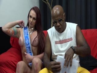 Kid Bengala apresentou Bruninha e revelou o resultado da Miss