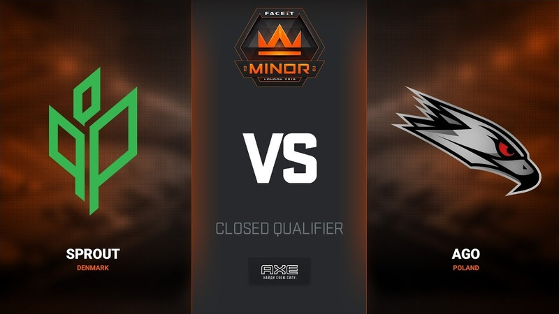 Sprout vs AGO, map 1 cache, Europe Minor Closed Qualifier – FACEIT Major 2018