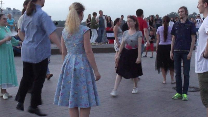 Танцы на Стрелке В.О. Хрустальный дракон. 21 июля 2018. Часть 2