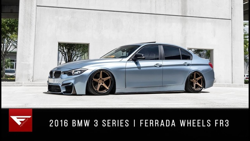 2016 BMW 3 Series Celestial Miami Ferrada Wheels FR3
