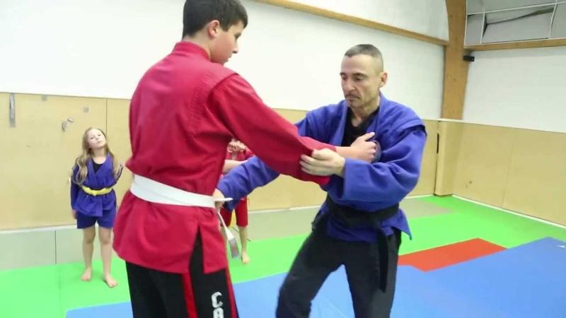 Cours de sambo avec Bernard Bordas - Le monde des arts martiaux