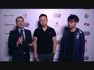 «Обязательно встретимся с Liquid в гранд-финале!». Послематчевое интервью с мидером PSG.LGD. - Somnus丶M