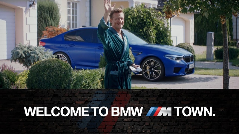 Welcome to BMW M Town Where TOO MUCH is just right