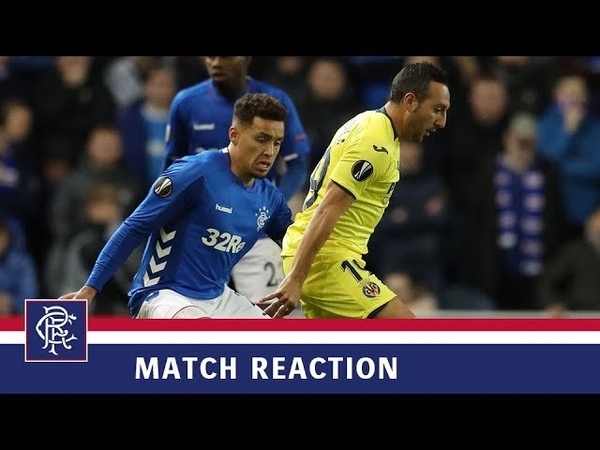 REACTION | James Tavernier | Rangers 0-0 Villarreal