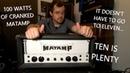 Matamp custom made for Wishbone Ash... cranked to Full Volume!