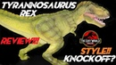New Lost World Jurassic Park Style Tyrannosaurus Rex Review
